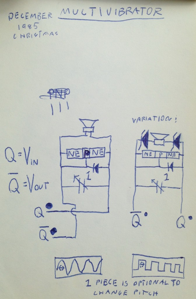 17a - attempt to simplify a multivibrator cropped